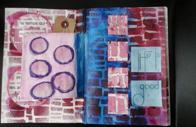 Art journal : le temps qui passe