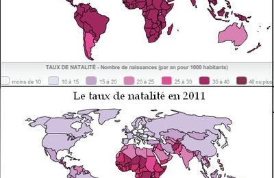 La baisse de la natalité partout dans le monde