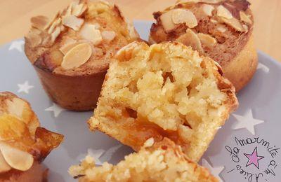 ☆ Muffins Amandine à l'Abricot & Tonka ☆