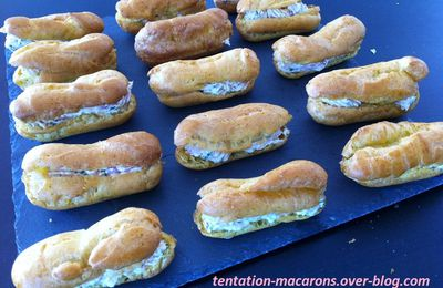 Mini Eclairs au curry