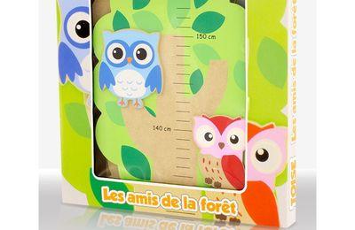 "Toise décorative en bois ""Forêt"" - Ulysse"