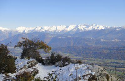 Roche du Guet (1209m), depuis Chignin, par le Mont St Michel