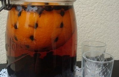 Liqueur d'orange au café
