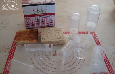 Push Cakes apéritif au thon et basilic avec les nouveautés Elle à Table