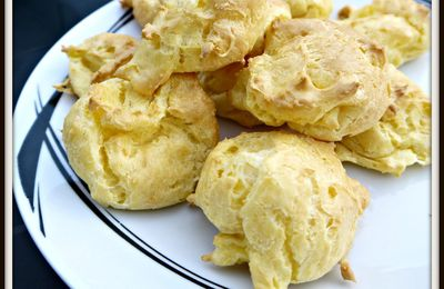 Gougères au Fromage (Thermomix)