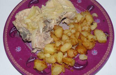 Côtes de porc à la crème (Cookeo)