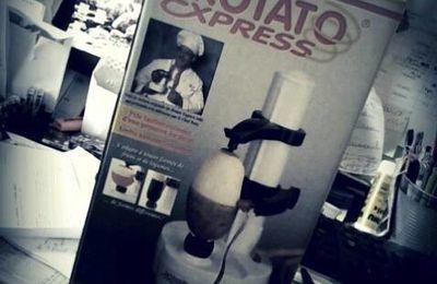 ROTATO EXPRESS : Eplucheur électrique fruits et légumes