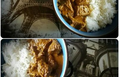 Curry Madras au Boeuf (cookeo)