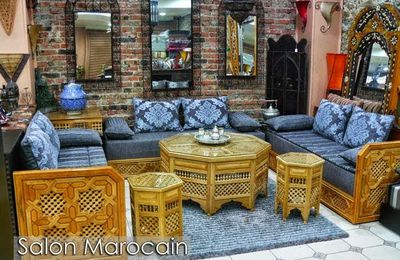 Salon marocain art Arabesque fascinant