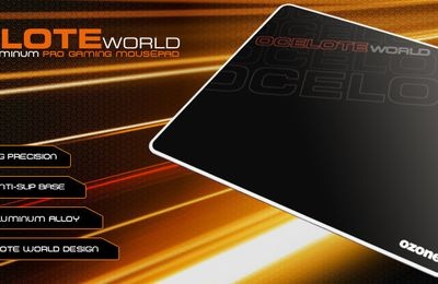 Ozone - tapis de souris Ocelote World | Monhardware.fr
