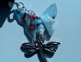 Pic à cheveux Butterflies