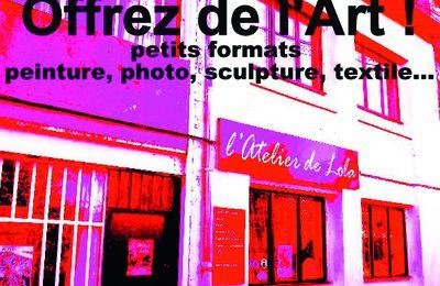 ouverture de la P'tite Galerie de Noël vendredi 9 décembre à 14h