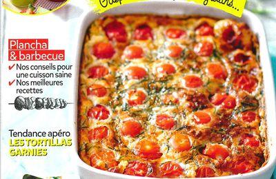 Vu dans  le magazine Gourmand : Recettes d'été aux œufs !