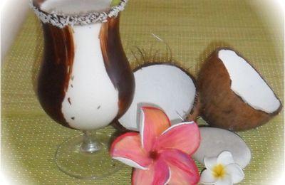 Milkshake coco rhum