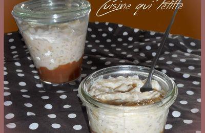 Riz au lait breton au caramel beurre salé