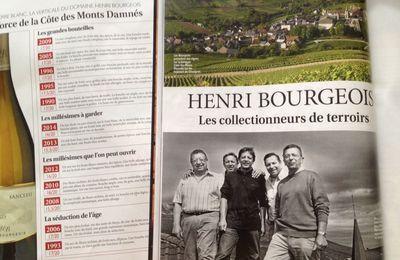 La saga des Bourgeois dans la Revue du vin de France ...