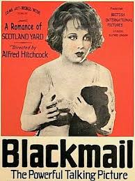 """Chantage"" (""Black Mail"") HITCHCOCK, premier film parlant britannique (1929)"