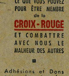 La Croix Rouge a 150 ans