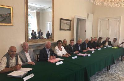 Radio Imagine - Reportage : La signature du contrat de ruralité par le Pays du Grand Briançonnais
