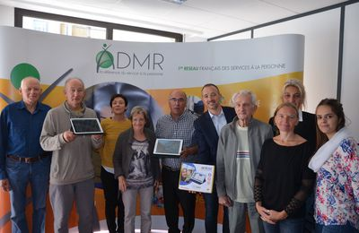 Radio Imagine - Interview Journal Local : Ateliers Numérique Seniors organisés en partenariat par l'ADMR Hautes-Alpes et La Poste.