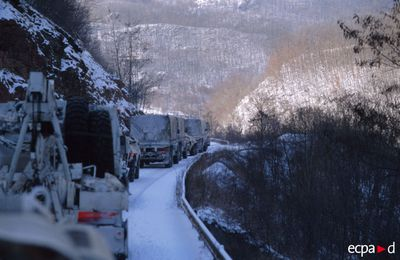 Engagement humanitaire en Bosnie, par le LCL Joël Kaigre.