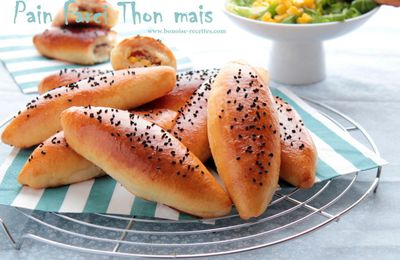 Petits pains delicieux au thon