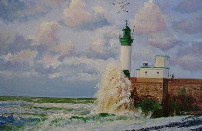 Les mini-contes de l'été - Carmen Montet - La légende de la tour du phare