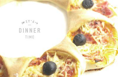 | Quand une pizza se prend pour une reine | Pizza en couronne