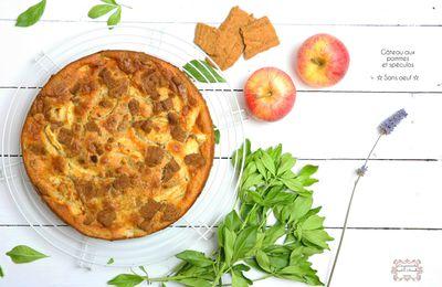 | Gâteau aux pommes et spéculos |   Sans oeuf