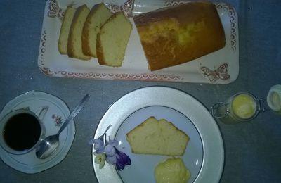 Cake acidulé au citron P Hermé