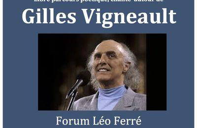 Gilles Vigneault Poète Vivant, Universel.