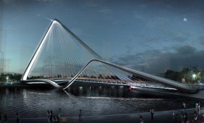 Infinity Loop Bridge - 10 Design + Buro Happold