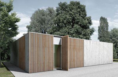 Neubau Ateliergebäude - Berger Röcker