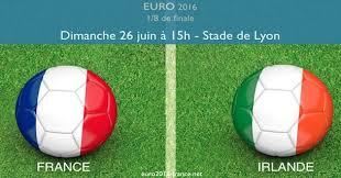 Pronostics France-Republique Irlande 8e de finale Euro 2016