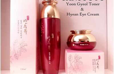 [SANSOOYU] Yoon Gyeol Toner / Hyean Eye Cream