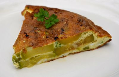 Frittata aux courgettes