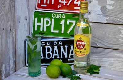 Authentique mojito cubain