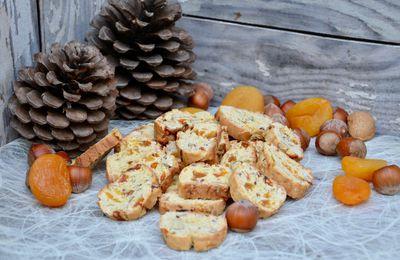 Biscotti abricots noisettes