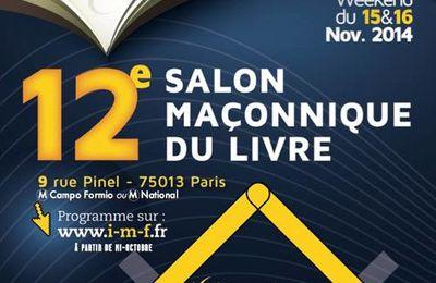 12° Salon du Livre Maçonnique