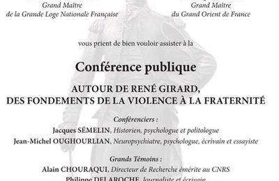 22 mars : Les 3° Rencontres La Fayette GLNF-GODF