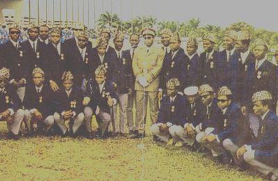 Les photos officielles de l'équipe nationale «Léopards 1968 & 1974» après leurs décorations.