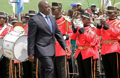 DEMOCRATIC REPUBLIC OF THE CONGO 'FACES CIVIL WAR' IF PRESIDENT FAILS TO QUIT.