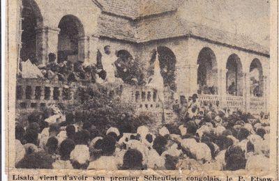 Il y a 59 ans: L'ordination du Père Frédéric Etsouw et La remise des diplômes à l'Académie des Beaux-Arts d'Elisabethville.