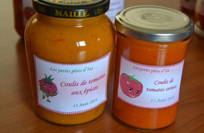 "Coulis de tomates au""Mycook, Thermomix, Cook'in"""