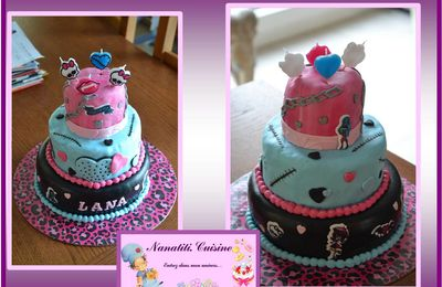 "Gâteau 3D ""Monster High"""
