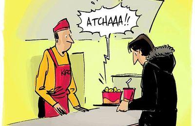 Peut-on attraper un rhume chez KFC ?