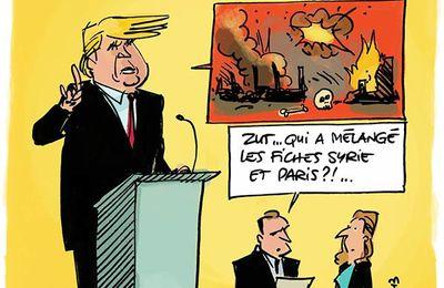 Paris vu par Trump, ça fait peur !