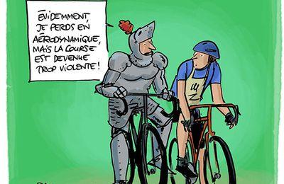 Contre la violence du Tour de France