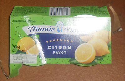 Mamie Nova Gourmand Citron pavot