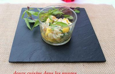 Salade d'araignée de mer